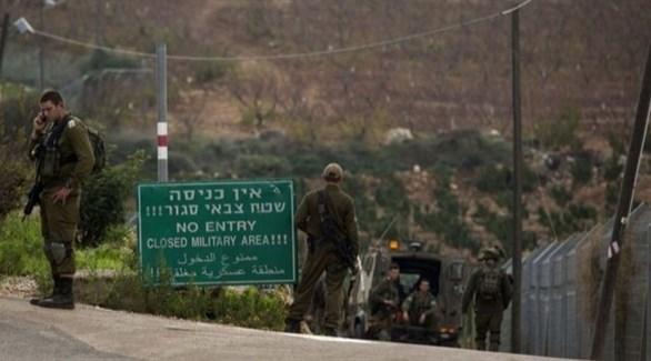 جنود إسرائيليون على حدود لبنان (أرشيف)