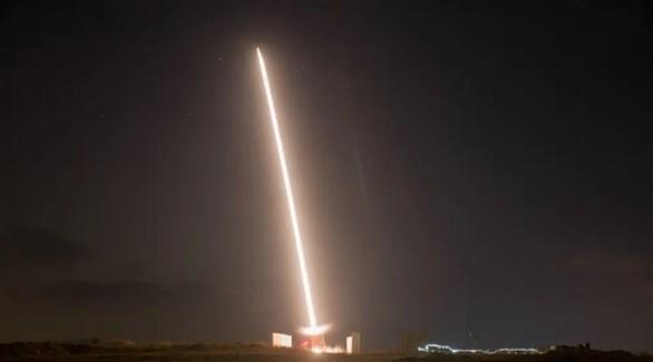 القبة الحديدية الاسرائيلية تعترض صاروخاً من غزة (أرشيف)
