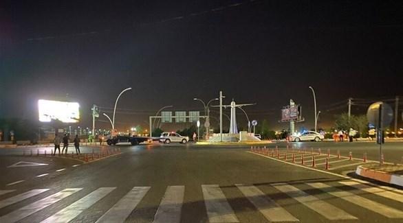 انتشار قوات الأمن في محيط مطار أربيل (أرشيف)