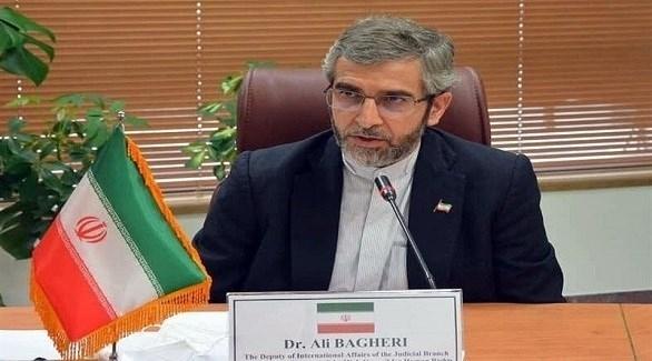 كبير المفاوضين الإيرانيين الجديد علي باقري كني (أرشيف)