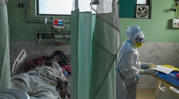 مستشفى للتعامل مع مصابي كورونا في الهند (رويترز)