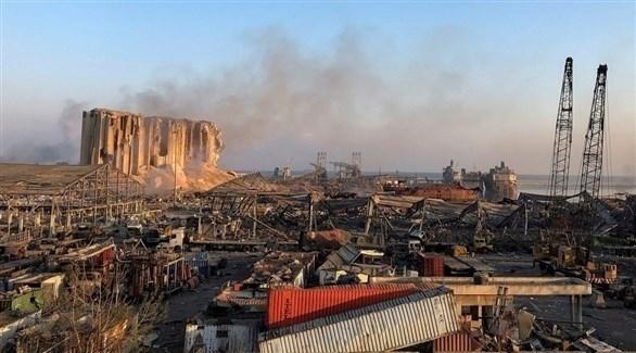مرفأ بيروت المنكوب (أرشيف)