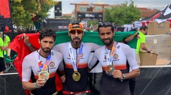 شرطة أبوظبي تحقق نتائج مميزة في بطولة العالم للرجل الحديدي