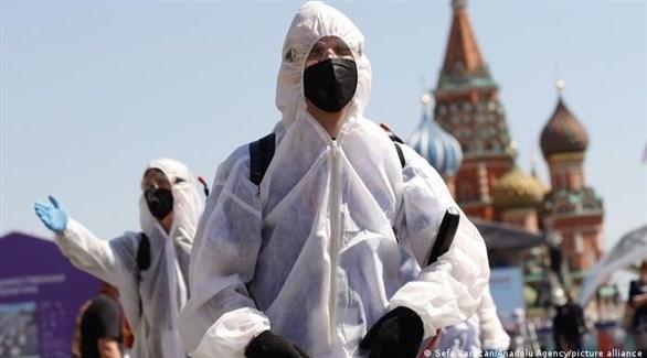روسيا تسجل 798 حالة وفاة جديدة بكورونا