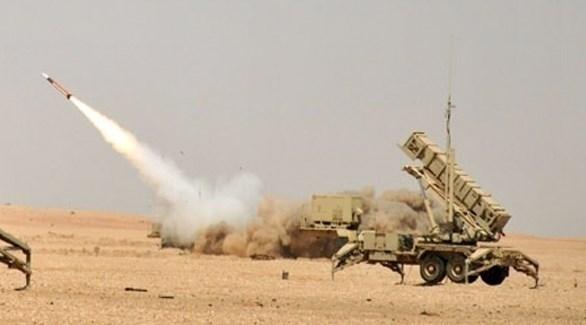 صاروخ دفاعي سعودي (أرشيف)