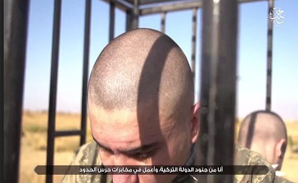 داعش يحرق جنديين تركيين في مدينة الباب السورية  9