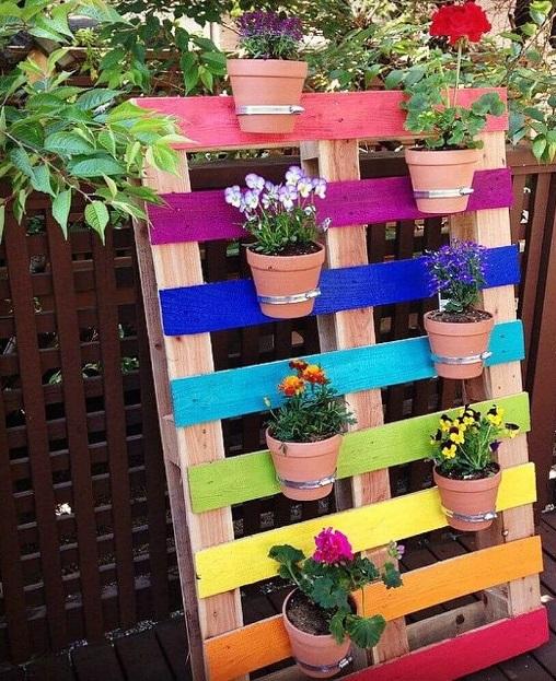 الحديقة المنزلية الصغيرة صور: 10 أفكار لإضفاء لمسة سحرية بالألوان على حديقة المنزل