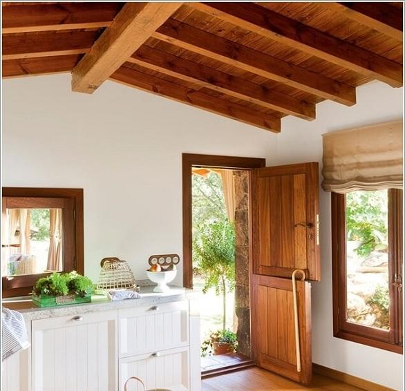 10 افكار لتصميم باب المطبخ بطريقة عصرية