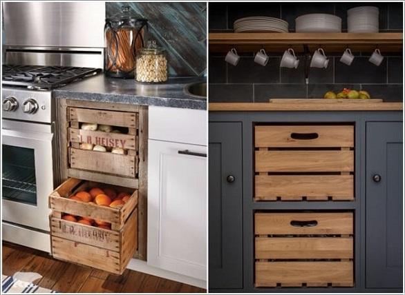 وحدات تخزين يمكنك صنعها في المطبخ