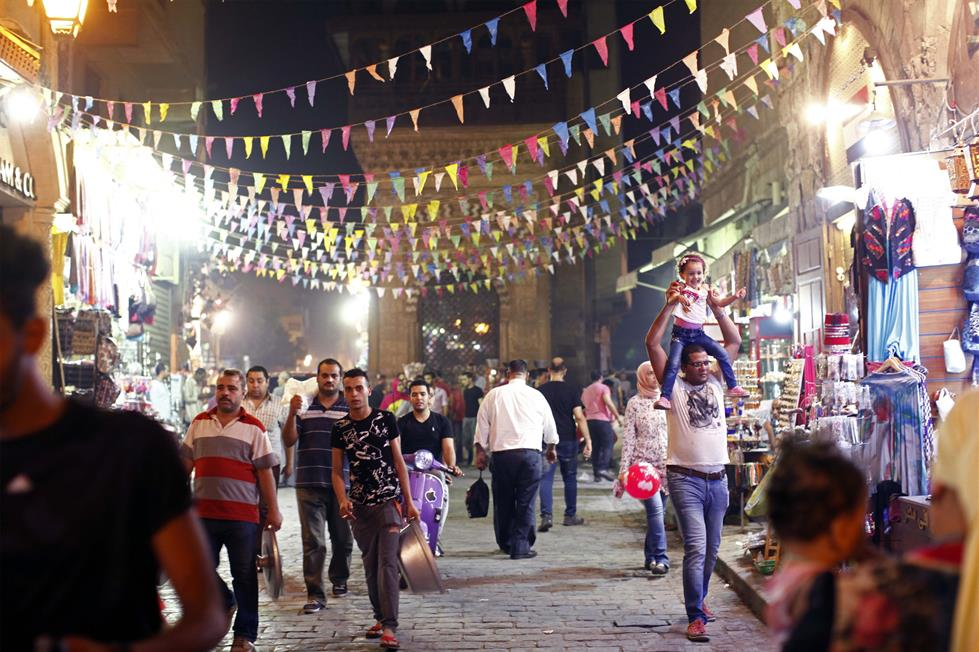 Image result for زينة العيد شارع المعز