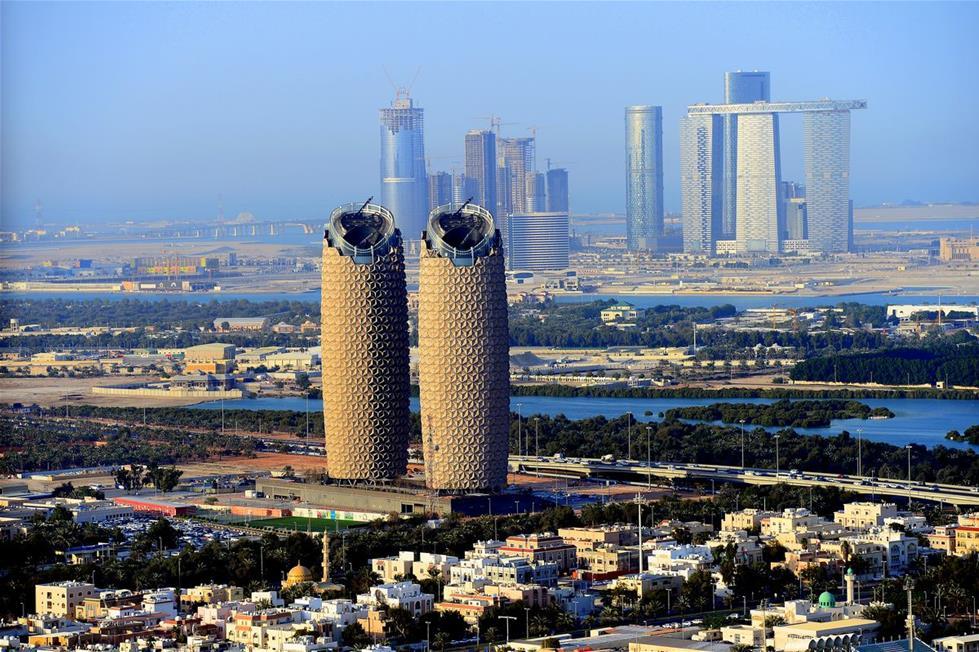 أبوظبي من الجو 201410191029350