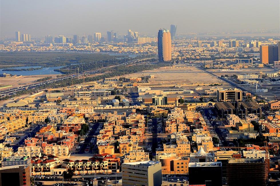 أبوظبي من الجو 2014101910299