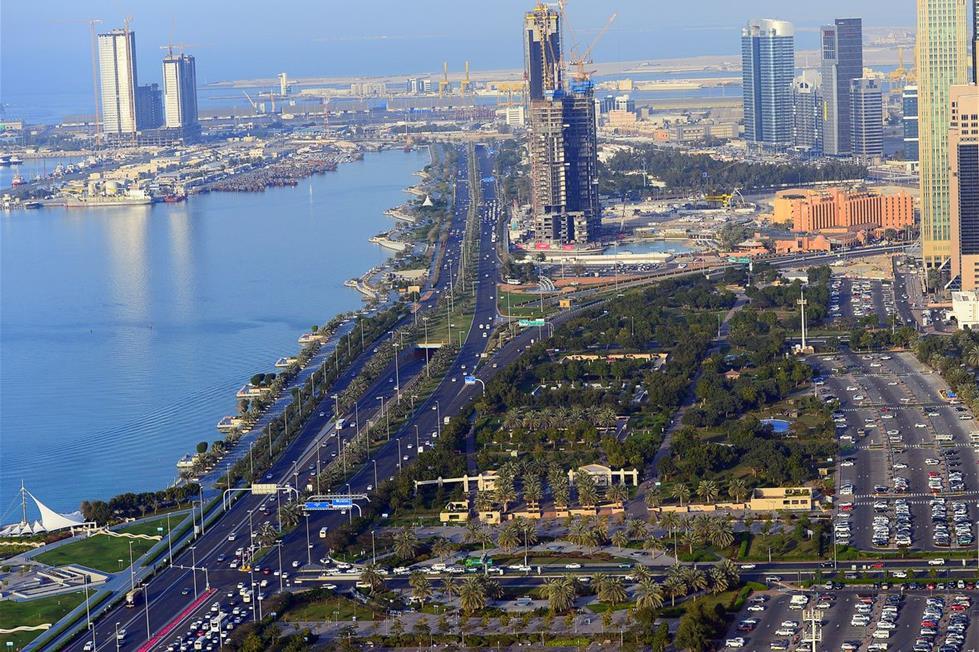 أبوظبي من الجو 201410191029956