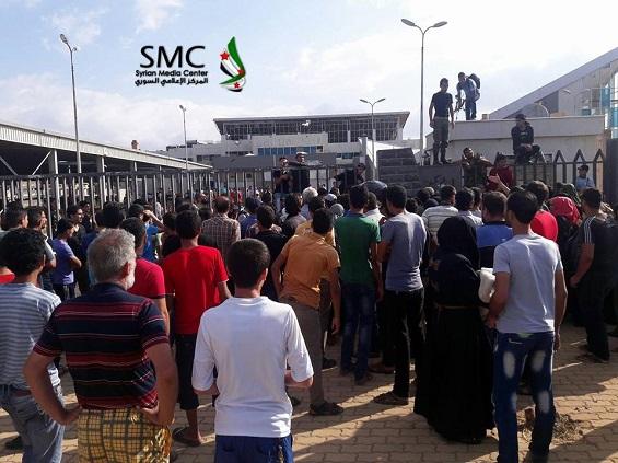 بالصور: بدء إجلاء مقاتلي المعارضة من حي الوعر في حمص  بالصور: بدء إجلاء مقاتلي المعارضة من حي الوعر في حمص  بالصور: بدء إجلاء مقاتلي المعارضة من حي الوعر في حمص  بالصور: بدء إجلاء مقاتلي المعارضة من حي الوعر في حمص