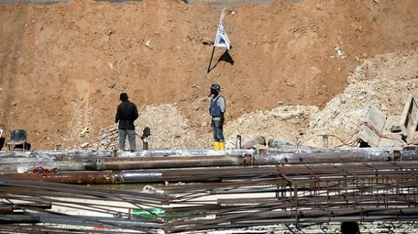 بالصور: الجيش الإسرائيلي يبني جداراً خرسانياً حول غزة  بالصور: الجيش الإسرائيلي يبني جداراً خرسانياً حول غزة
