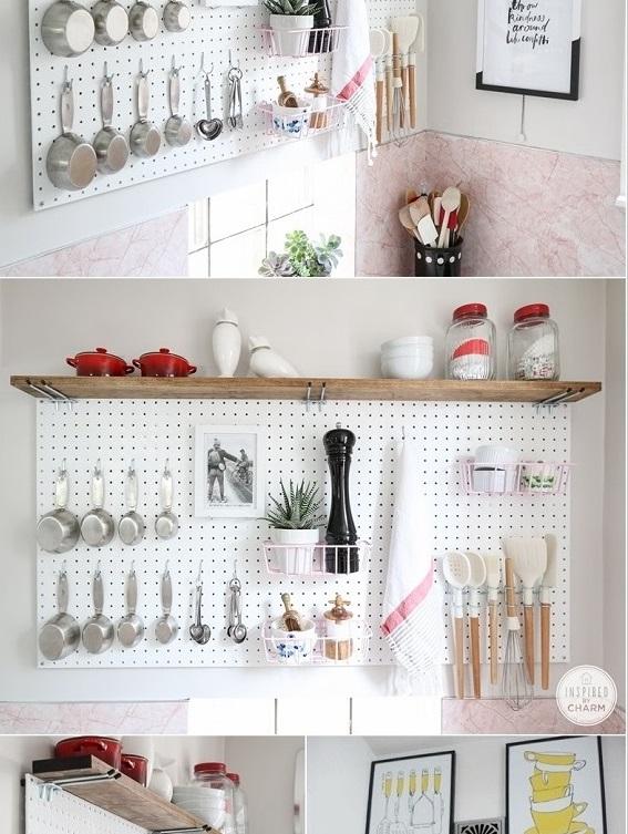 لتخزين الأواني وأدوات الطبخ بالصور: 10 نصائح لاستغلال جميع المساحات في المطبخ 2