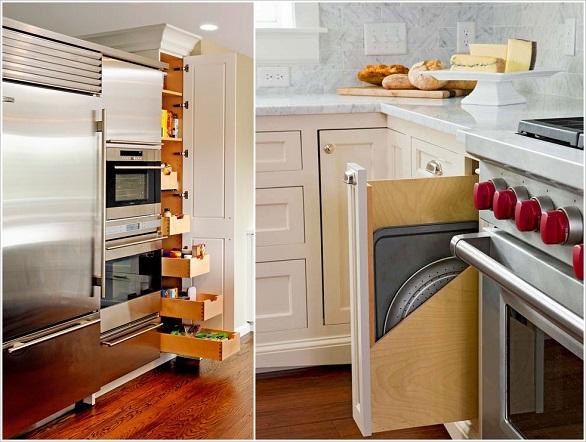 لتخزين الأواني وأدوات الطبخ بالصور: 10 نصائح لاستغلال جميع المساحات في المطبخ 3