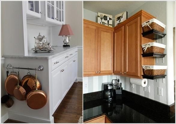 لتخزين الأواني وأدوات الطبخ بالصور: 10 نصائح لاستغلال جميع المساحات في المطبخ 5
