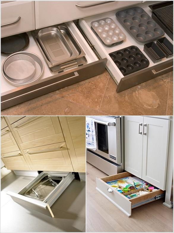 لتخزين الأواني وأدوات الطبخ بالصور: 10 نصائح لاستغلال جميع المساحات في المطبخ 6