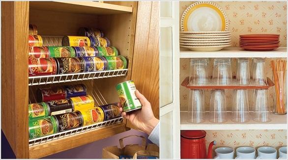 لتخزين الأواني وأدوات الطبخ بالصور: 10 نصائح لاستغلال جميع المساحات في المطبخ 8
