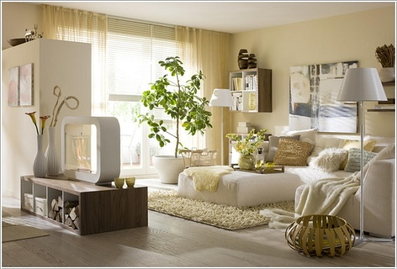 أفكار جديده لغرفه المعيشه   فكره لديكور غرفه المعيشه   أفكار طبيعيه لغرف المعيشه