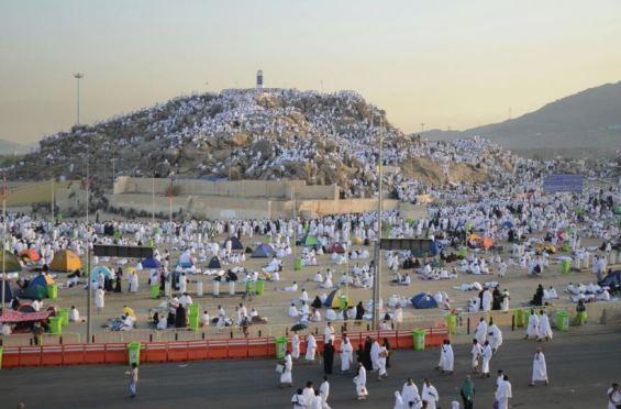 بالصور: نحو مليوني حاج يشهدون وقفة عرفات اليوم  بالصور: نحو مليوني حاج يشهدون وقفة عرفات اليوم