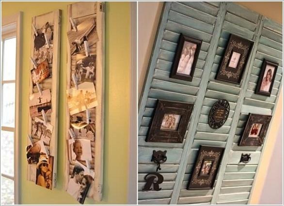 Kết quả hình ảnh cho trang trí tường bằng cửa gỗ cuz