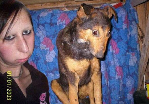 أشخاص يشبهون كلابهم فى 20 صورة طبيعية Dog16