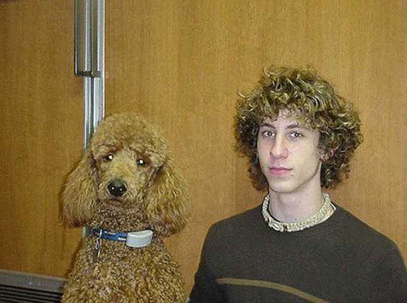 أشخاص يشبهون كلابهم فى 20 صورة طبيعية Dog18