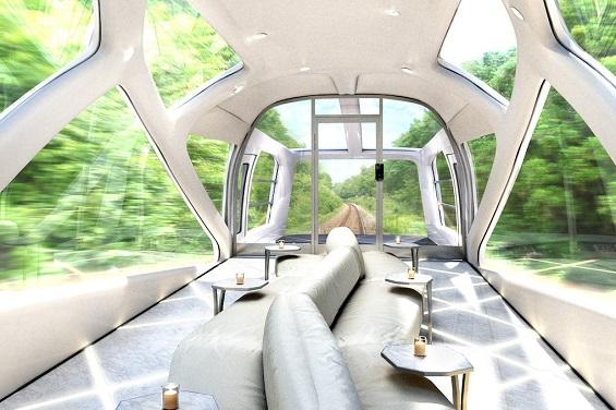 قطار فاخر باليابان